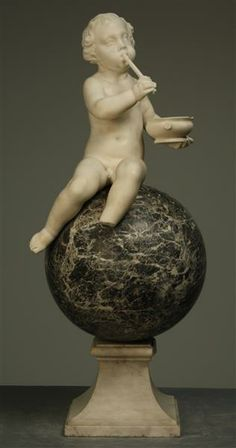 Child on ball  unknown (sculptor) Before 1765