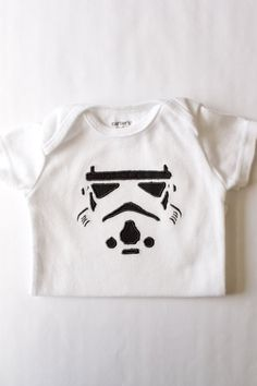 Star Wars Inspired Storm Tooper Onesie  Star by BittiBottomDesigns, $18.00