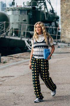See looks from Copenhagen Fashion Week Spring Summer Copenhagen Street Style, Stockholm Street Style, Copenhagen Fashion Week, Paris Street, London Fashion, Indie Fashion, Street Fashion, Fashion Outfits, Streetwear Fashion