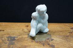 Blanc de Chine porcelain monkey #porcelain #miniature #Blanc #DeChine #Chinese #antique #wax #wealth #glass #kokova A Beast, Ivory White, Four Legged, White Porcelain, Edinburgh, 18th Century, Monkey, Hand Carved, Zodiac