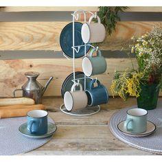 Tazas - Cocina - Decoracion - Kenay Home Teak, Espresso, Kitchen, Home, Kitchen Fixtures, Decorating Kitchen, Dish Sets, Home Decoration, Flats