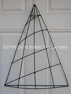 Christmas Tree Form Christmas Mesh Wreaths Deco Mesh Wreaths Diy Wire Wreath Forms