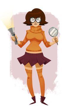 Shaggy Scooby Doo, Velma Scooby Doo, Cartoon Shows, Cartoon Art, Cartoon Characters, Female Characters, Futurama, Hanna Barbera, Scooby Doo Mystery Incorporated