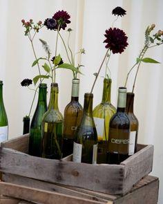 empty wine bottles???