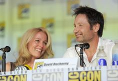 Gillian Anderson and David Duchovny were both positive about the idea of a third film of The X-Files. Description from wwwnews.live.bbc.co.uk. I…