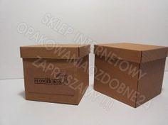 Flower box, Pudełko na kwiaty eko