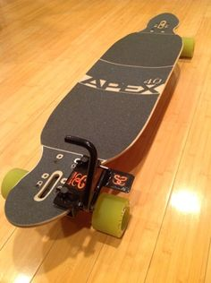 This Clever Mechanism Adds Foot Operated Brake To Your Skateboard Long Skateboards, Cruiser Skateboards, Old School Skateboards, Longboard Design, Longboard Decks, Skateboard Design, Skateboard Parts, Skateboard Decks, Caster Board