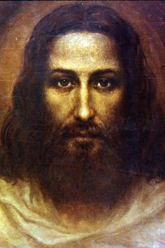 Painting of the Face of Jesus of Nazareth by Hungarian artist, Ariel Agemian