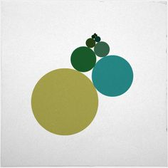 #535 Approaching – A new minimal geometric composition each day.