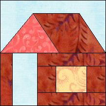 Block of Day for March 01, 2015 - Log Cabin