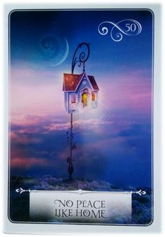 No Place Like Home ~ Wisdom of the Oracle divination card by Colette Baron-Reid