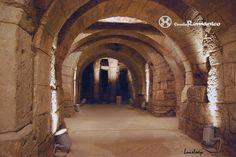 Catedral de Palencia. Cripta de San Antolin. Restos visigodos.