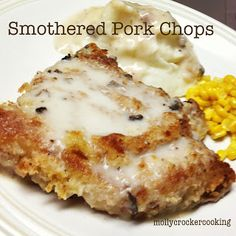 Smothered Pork Chops - WINNER! These are good... my husband LOVES them, he can't get enough!