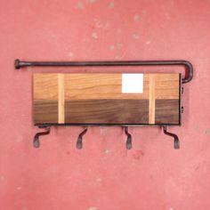 Love this key rack by moonshine wood and steel www.moonshinewoodandsteel.com