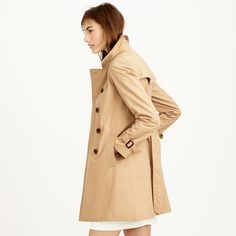 Collection icon trench coat : outerwear | J.Crew