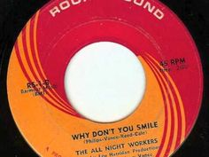 "ALL NIGHT WORKERS (pre VU!)""Don't Put All Your Eggs In One Basket"" b/w ""Why Don't You Smile""1965 Round Sound. LOU REED'S Pickwick era w/ Vance was usually studio ""exploito bands"", but they were a real band w/ Lou Reed's college pal Steve McCord but REED plays on this 45 & it's the first time REED & JOHN CALE wrote together! between the drone, delivery & lyric, for sure beginnings of VELVET UNDERGROUND! Luckily somehow DOWNLINERS SECT heard it & both are important ""Outsider"" Rock n' Roll…"