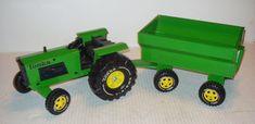 1973 Tonka Tractor and Wagon # 2710