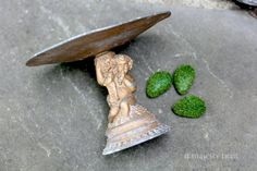 Ornate Cherub Pedestal Dish. Vintage. Cast by NorthMajestyTrail