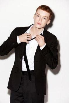 Cameron Monaghan... I know hes super young, but he is my favorite little ginger. Love him.