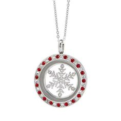 Snowflake plate Origami Owl 2016 winter collection