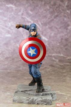 ARTFX Civil War Captain America 001