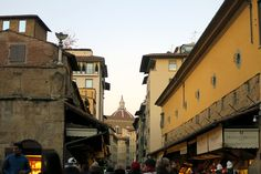 The 4 Best Streets for Shopping in Florence. Its getting soooo close (: