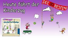 Heute fährt der Kinderzug - Die besten Kinderturnlieder || Kinderlieder