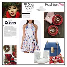 """Fashion Mia"" by velvetgirl10 on Polyvore featuring UGG Australia"