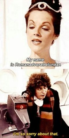 Proof that the Doctor has always been full of sass