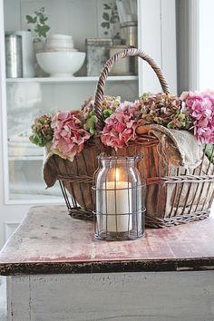 VIBEKE DESIGN: Romantic autumn mood with hydrangea!
