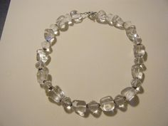 Quartz Crystal and Sterling Silver Necklace