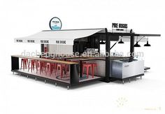 modern mobile container house coffee bar 40ft container coffee shop cheap fashion simple container coffee bar
