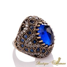 #jewellery Hareem Exclusive Collection Ring HS-0016  #jewelry #ottoman