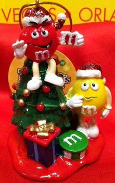 U PICK Elvis M /& M Christmas Ornament 2008 Blue Yellow COLLECT M /& M/'s MARS New