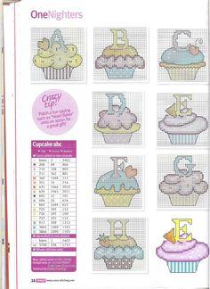 Cupcake alphabet PART 1