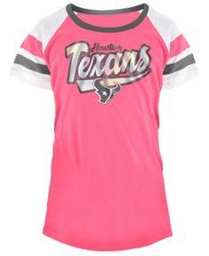 5th   Ocean Houston Texans Pink Foil T-Shirt 5dffed446