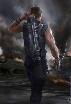 Hawkeye  repinning again because my lover