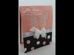 Butterflies Thinlit Window Card with Deb Valder