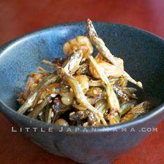 ❤ little japan mama ❤: Tazukuri Osechi Recipe - Sweet Dried Fish