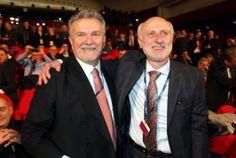 Ivan Malavasi, presidente uscente della CNA Nazionale, insieme a Daniele Vaccarino, neo presidente della CNA Nazionale