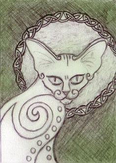 Celtic cool cat - Kind of freaky