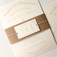 nature inspired wedding invitation vine invite floral di papergrey bachelorette invitations beach wedding invitations