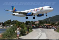 Small Planet Airlines LY-SPA Airbus A320-232 aircraft picture