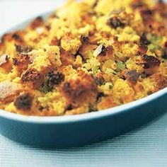 Cornbread and Sausage Stuffing - Cook's Illustrated  I have made this every Thanksgiving for the past 7 years. Everyone loves it!