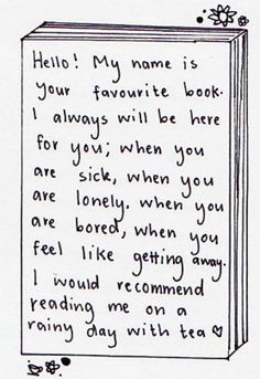 From Your Favorite Book...