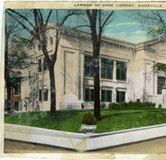 Lawson McGhee Library, Knoxville, Tennessee :: Sjoerd Koopman Library Postcard Collection