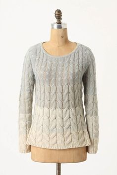 Anthropologie Fading Stitch Pullover
