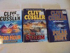 Clive Cussler Books, Zero Hour, Dj, Literature, Action, Nice, Literatura, Group Action, Nice France