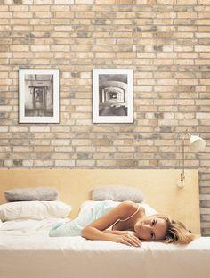 Porcelanato que imita tijola a vista. Porcelanato Brick HD da Portinari é uma das opções que imitam com perfeição o acabamento