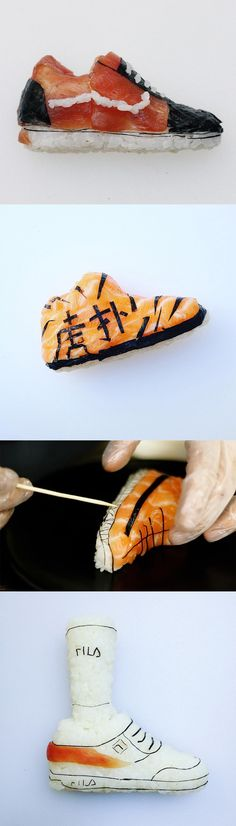 Shoe-Shi: Edible Sneakers That Combine an Artist's Love of Footwear and Sushi